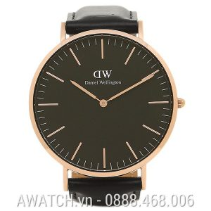 Đồng Hồ Daniel Wellington Classic Black Sheffield 40mm DW00100127